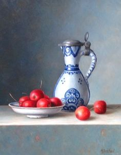 Annelies Jonhart, fijnschilder, expositie, Galerie Wijdemeren