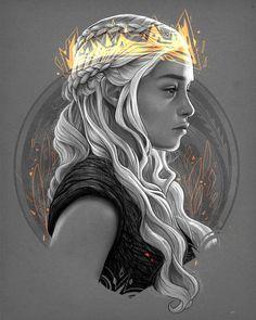 Daenerys by obrunomota.deviantart.com on @DeviantArt