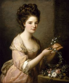 Portrait of Eleanor, Countess of Lauderdale by Angelica Kauffmann, Rienzi Collection, MFAH Angelica Kauffmann, Hans Baldung Grien, Images Victoriennes, Georgia O'keeffe, Google Art Project, Oil Painting Reproductions, Museum Of Fine Arts, Art Museum, Woman Painting
