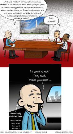 Joe Mohr Monsanto Cartoons