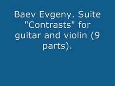 """Baev Evgeny. Suite """"Contrasts"""" (9 parts)"""