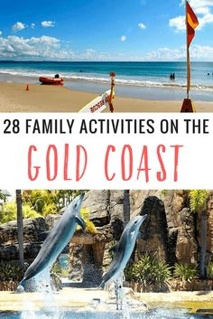 Australia Travel Our list of 28 things to do on the Gold Coast for families has activities and adventure for kids (and parents) of all tastes and all Visit Australia, Coast Australia, Australia Travel, Australia Funny, Australia Animals, Queensland Australia, South Australia, Best Beaches To Visit, Cool Places To Visit