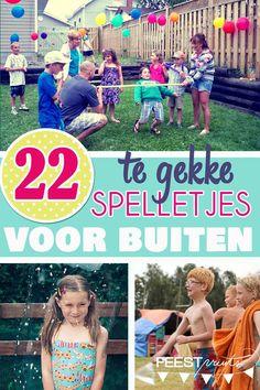 22 spelletjes voor buiten op een kinderfeestje
