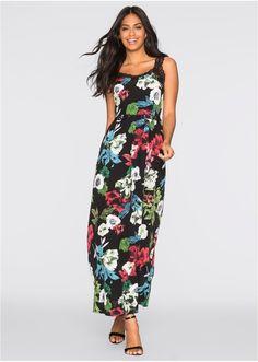Długa sukienka z koronką Piękna • 149.99 zł • bonprix