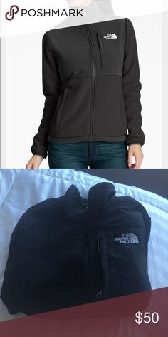 🔥Host Pick🔥North face fleece jacket Used women's North Face delve jacket North Face Jackets & Coats