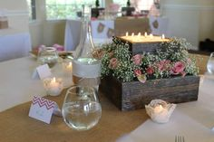 burlap, lace and pearls Baby Shower Party Ideas | Photo 1 of 15 | Catch My Party