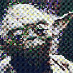 Star Wars Yoda perler beads by tee_jaays