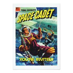 Boys Birthday Party Invite