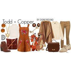 DisneyBound - Todd + Copper