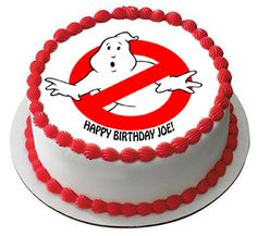 Ghostbusters Stay Puft Marshmallow Man Cake Lol Tina S