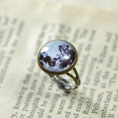 Bague de lune Style Vintage pleine lune bague anneau par minnadiy, $8.90 Style Vintage, Silver Rings, Jewelry, Full Moon, Bijoux, Jewlery, Jewerly, Jewelery, Jewels