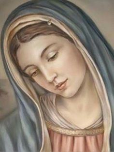 Holy and blessed mother Mary Blessed Mother Mary, Divine Mother, Blessed Virgin Mary, Mother Teresa, Catholic Art, Catholic Saints, Religious Art, Religious Pictures, Jesus Pictures