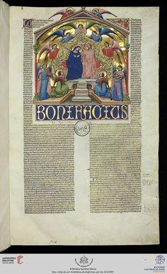 Vatikan, Biblioteca Apostolica Vaticana, Pal. lat. 636  Bonifatii VIII sextus decretalium cum apparatu Ioannis Andreae  14. Jh.  Bibliotheca Palatina Zitierlink: http://digi.ub.uni-heidelberg.de/diglit/bav_pal_lat_636   i  URN: urn:nbn:de:bsz:16-diglit-144603   i  Metadaten: METS  IIIF Manifest: http://digi.ub.uni-heidelberg.de/diglit/iiif/bav_pal_lat_636/manifest.json