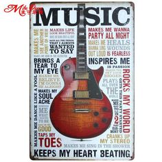 Hot Selling Trendy Creative DIY Top Painting Design Quotes Wall Decals Metal Sign