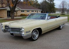 F Cb A A Bf D Ed C on 1966 Cadi Deville Convertible