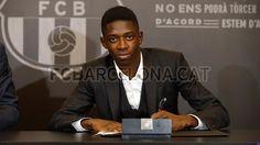 Ousmane Dembélé #FCBarcelona #OusmaneDembélé #OusmaneDembéléFCB #FansFCB #11