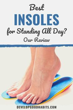 Check out our reviews of the best insoles for standing all day that will get the job done | best insoles for standing all day | best insoles for standing all day reddit | best insoles for walking all day | #insoles #feet #shoes via @HabitChange Wellness Tips, Health And Wellness, Benefits Of Walking, Walking Exercise, Get The Job, Self Help, Feel Good, Athlete, Weight Loss