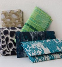 HER CLUTCHES ARE BEAUTIFUL!!! megan adams clutches, custom line from dallas, texas