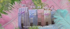 Baby Bloomer Sachets Favors
