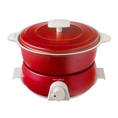 Red Kitchen Cooker – Color your kitchen Red Kitchen Accessories, Pots, Kitchen Cooker, Multicooker, Specialty Appliances, Small Kitchen Appliances, Crock, Products, Color