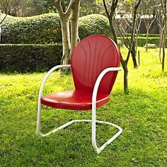 Griffith Metal Chair - Retro Patio Metal Chair - Metal Outdoor Furniture | Solutions