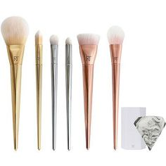 Real Techniques Online Only Bold Metals Collection Deluxe Illumination Set