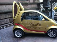 This takes the humorous look of Smart cars to a whole new level of funny