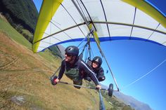Fly with the most experienced tandem paragliding and hang gliding Company in New Zealand. Tandem flights off the highest take off in Queenstown. Boxer Breifs, Men's Boxer Briefs, Men's Underwear, Beautiful Sketches, Hang Gliding, Sailing Outfit, Recreational Activities, Paragliding, Team Leader