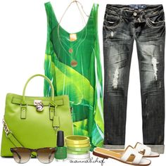 """""""Bright and Bold"""" by wannabchef on Polyvore"""