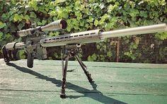 壁紙をダウンロードする AR-15, スナイパーライフル, アサルトライフル, riflescope
