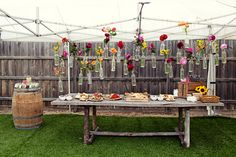 DIY-outdoor party setting