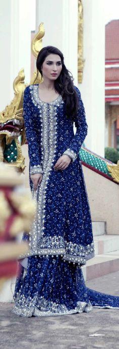 Fashion house Sania Maskatiya proudly introduces the latest formalwear and pretwear collection titled NISA commemorating Eid-ul-Azha Pakistani Couture, Pakistani Wedding Dresses, Pakistani Suits, Indian Suits, Ethnic Fashion, Indian Fashion, High Fashion, Women's Fashion, Mehendi Outfits