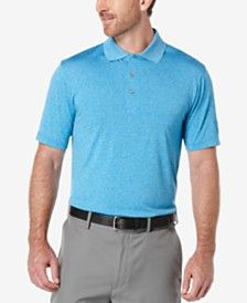 PGA TOUR Men's Heathered Golf Polo Shirt