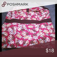 Torrid halter top Torrid floral polka dot halter shirt torrid Tops