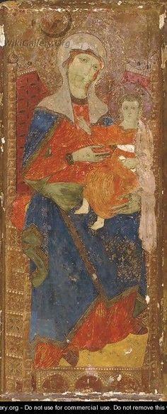 Giunta Pisano (Giunta Capitini, detto) - Madonna e Bambino - collezione privata