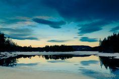 Sunrise at Skjersjøen