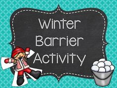 This winter-themed barrier activity can be used to target receptive direction following, expressive direction following, describing, receptive vocabulary, expressive vocabulary, and many other skills!