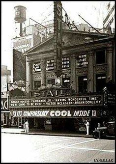Jersey City history: State Theater 1938