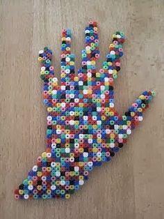The Cool Fabric: Pyssla o Hama Beads