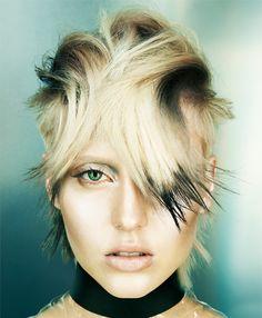 Hair by Cos Sakkas & Jane Stacey Toni And Guy Haircuts, Hair Styles 2016, Short Hair Styles, Edgy Short Hair, Gorgeous Hair Color, Hair Photography, Sassy Hair, Fantasy Hair, Trendy Hairstyles