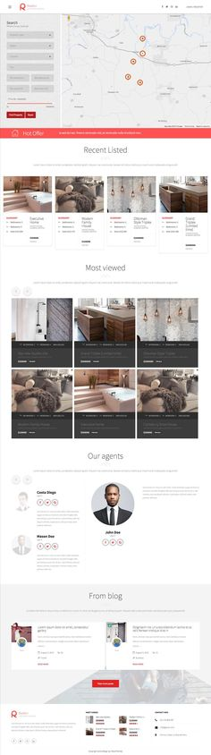 Realtor Real Estate Agents WordPress Theme - www.wpchats.com
