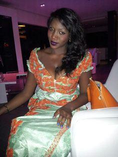 La jet setteuse Samira Nicki Diop en mode Tabaski