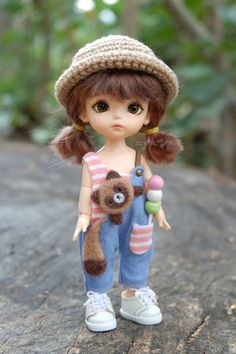 welcome to my world of cute dolls ♥ Cute Cartoon Pictures, Cute Cartoon Girl, Beautiful Barbie Dolls, Pretty Dolls, Anime Dolls, Blythe Dolls, Cute Kids Pics, Cute Baby Wallpaper, Cute Baby Dolls