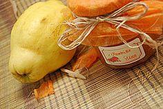 Mermelada de membrillo con vainilla