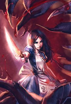 Alice Madness Returns by {BOW} who doesn't enjoy pointy objects!