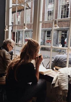 Reading or writing in a cozy coffee shop cafe- vibes! Kitchen window bar space to work & have coffee Tattoo Studio, Fitz Huxley, Sunday Coffee, Coffee Time, Coffee Break, Morning Coffee, Coffee Mornings, Sunday Morning, Tea Time