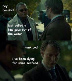 #Hannibal Sea food LOL