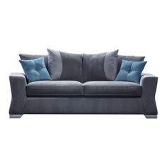 Rayford Scatter Back 3 Seater Sofa – Next Day Delivery Rayford Scatter Back 3 Seater Sofa from WorldStores: Everything For The Home