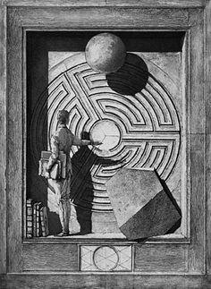 Erik Desmazières - Labyrinthe II (2003)