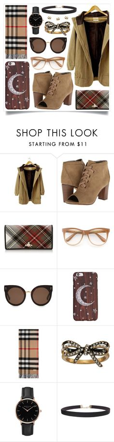 """""""Track Down"""" by racanoki ❤ liked on Polyvore featuring Michael Antonio, Vivienne Westwood, Wildfox, STELLA McCARTNEY, Burberry, Marc Jacobs, Topshop, Humble Chic and RaCaNoKi"""